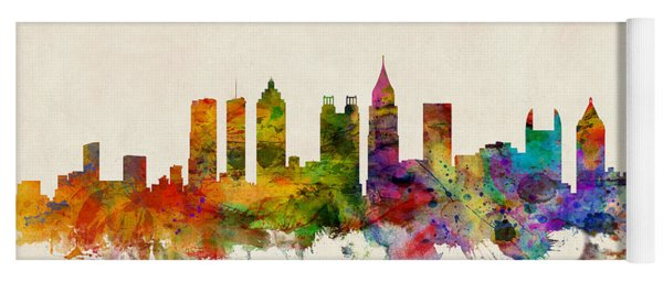 Atlanta Georgia Skyline Yoga Mat