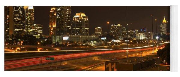 Atlanta Midtown To Downtown Yoga Mat