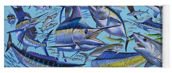 Atlantic Gamefish Off008 Yoga Mat