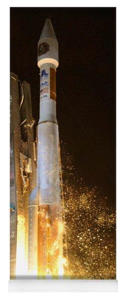 Atlas V Rocket Taking Off Yoga Mat