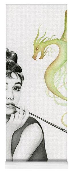 Audrey And Her Magic Dragon Yoga Mat