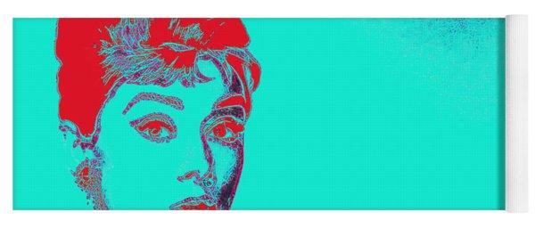 Audrey Hepburn 20130330v2p128 Yoga Mat