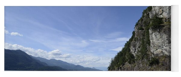 August Afternoon On Harrison Lake Bc Yoga Mat