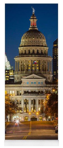 Austin Congress Avenue Yoga Mat