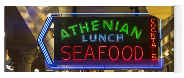 Authentic Lunch Seafood Yoga Mat
