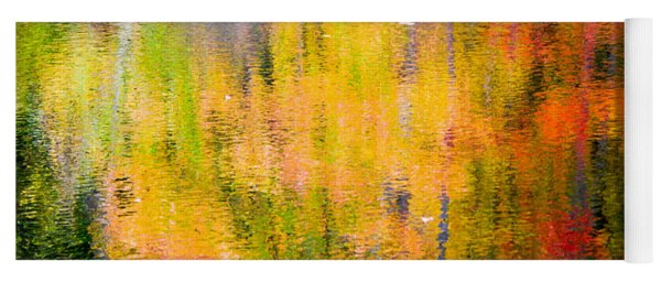 Autumn Abstract Yoga Mat