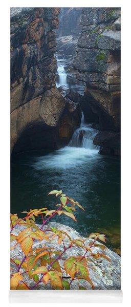 Autumn At The Grotto Yoga Mat