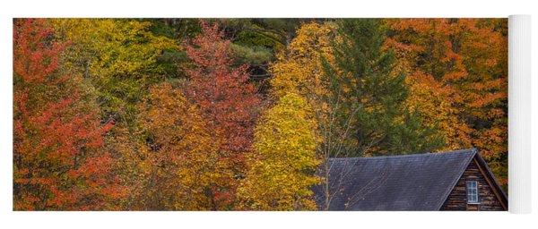 Autumn Barn In Easton Yoga Mat