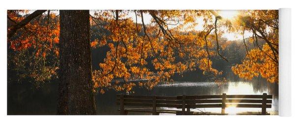 Autumn Beauty Yoga Mat