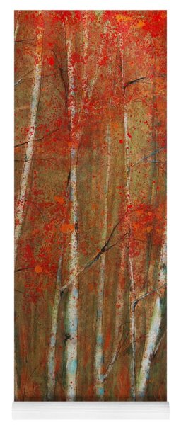 Autumn Birch Yoga Mat