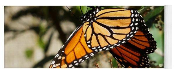 Autumn Butterfly Yoga Mat
