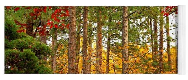 Autumn Canvas Yoga Mat