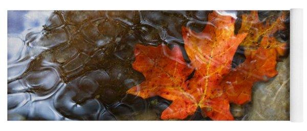 Autumn Down Under Yoga Mat