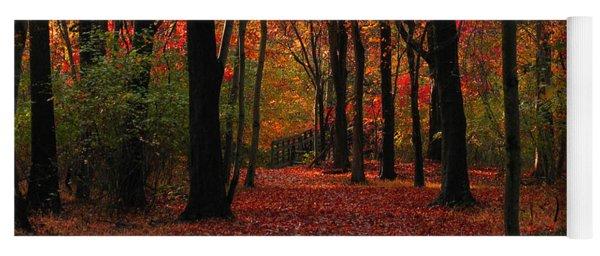 Autumn IIi Yoga Mat