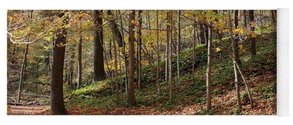 Autumn In Grant Park 4 Yoga Mat