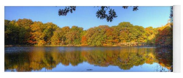 Autumn In Heaven Yoga Mat