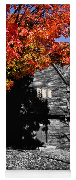 Autumn In Salem Yoga Mat