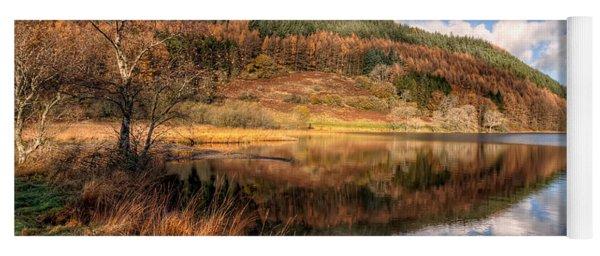 Autumn In Wales Yoga Mat