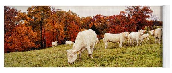 Autumn Pastures Yoga Mat