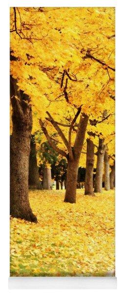 Autumn Perspective Yoga Mat
