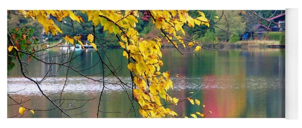 Autumn Reflection Yoga Mat