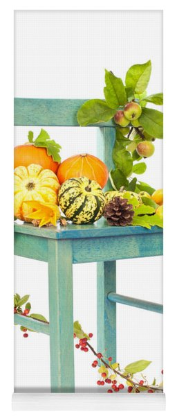 Autumn Still Life Chair Yoga Mat