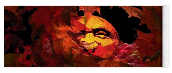Autumn Sun Yoga Mat