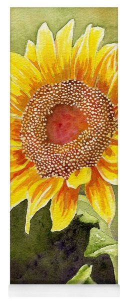 Autumn Sunflower Yoga Mat