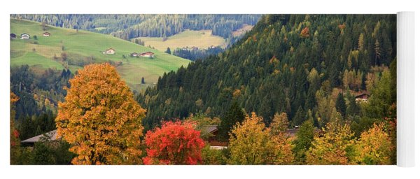 Autumnal Colours In Austria Yoga Mat