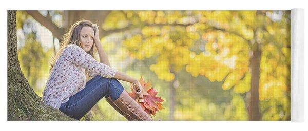 Autumnalia Yoga Mat
