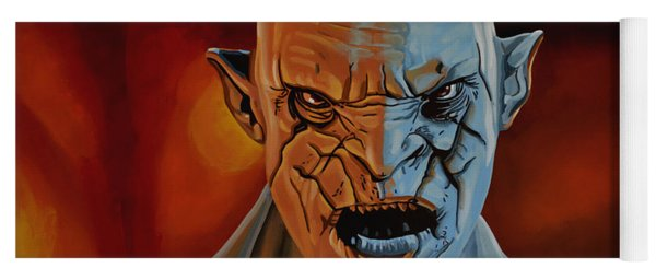 Azog The Orc Painting Yoga Mat