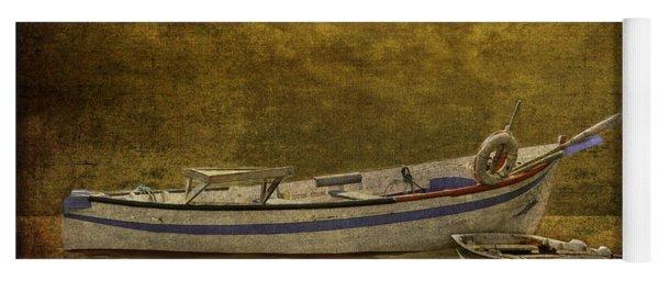 Azorean Fishing Boats Yoga Mat