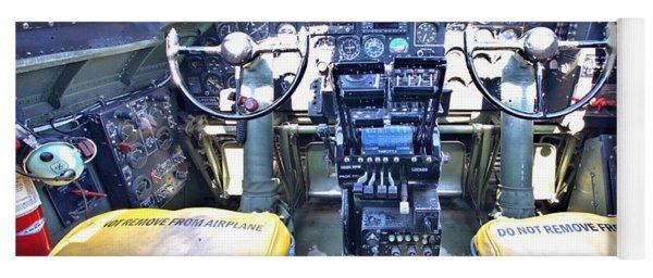 B-17 Front Office Yoga Mat