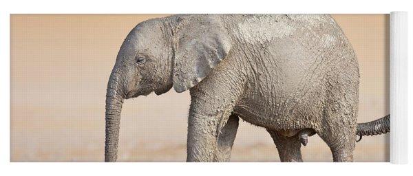 Baby Elephant  Yoga Mat