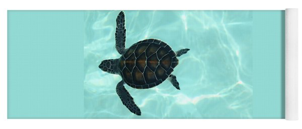 Baby Sea Turtle Yoga Mat