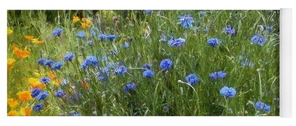 Bachelor's Meadow Yoga Mat