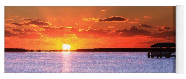 Back Bay Sunrise Yoga Mat