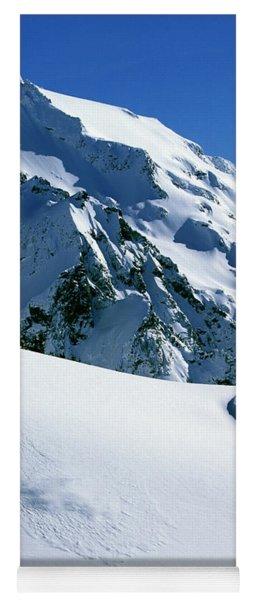 Backcountry Snowboarding Near Mt Yoga Mat