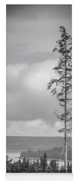 Tall Tree View Yoga Mat