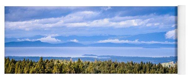 Johnstone Strait High Elevation View Yoga Mat