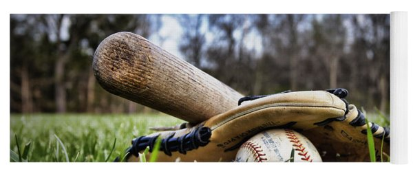 Backyard Baseball Memories Yoga Mat