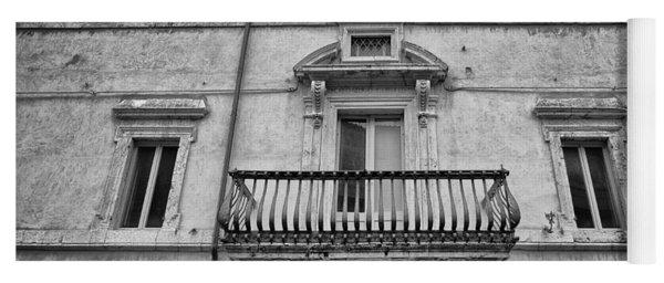 Balcony In Assisi Yoga Mat