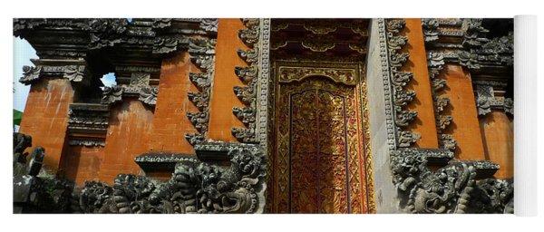 Balinese Hindu Temple Yoga Mat