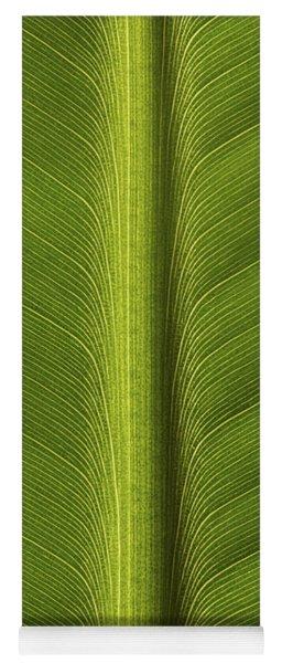 Banana Leaf Rib Yoga Mat