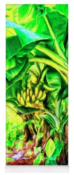 Bananas In Lahaina Maui Yoga Mat
