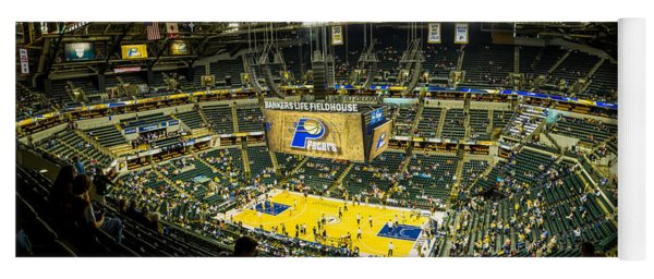 Bankers Life Fieldhouse - Home Of The Indiana Pacers Yoga Mat