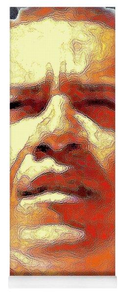 Barack Obama Portrait - American President 2008-2016 Yoga Mat