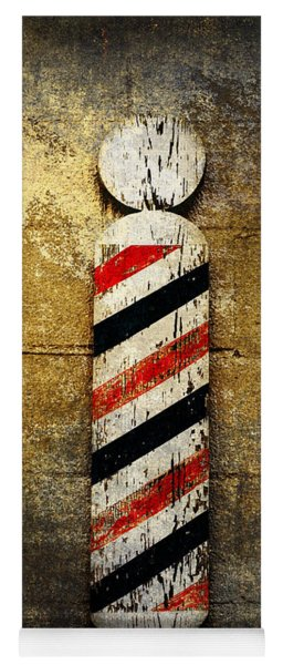 Barber Pole Yoga Mat