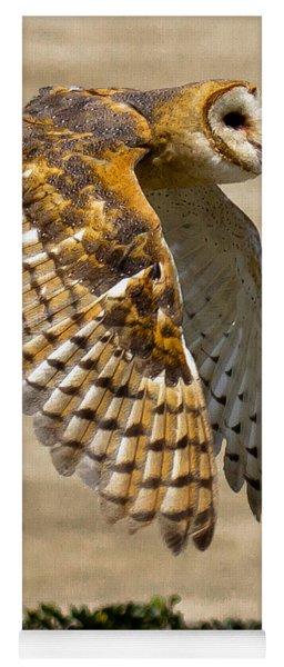 Barn Owl Yoga Mat