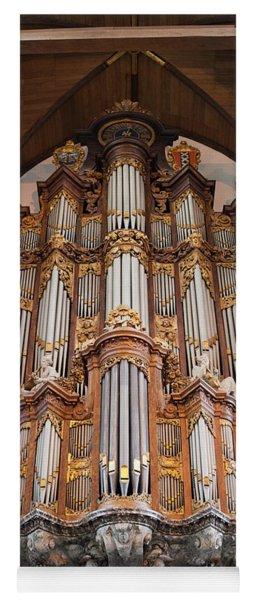 Baroque Grand Organ In Oude Kerk In Amsterdam Yoga Mat